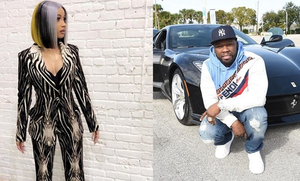 50 Cent Playing Cupid For Cardi B + Offset to Kiss and Makeup