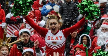 SF SantaCon STILL ALIVE Despite Death Reports