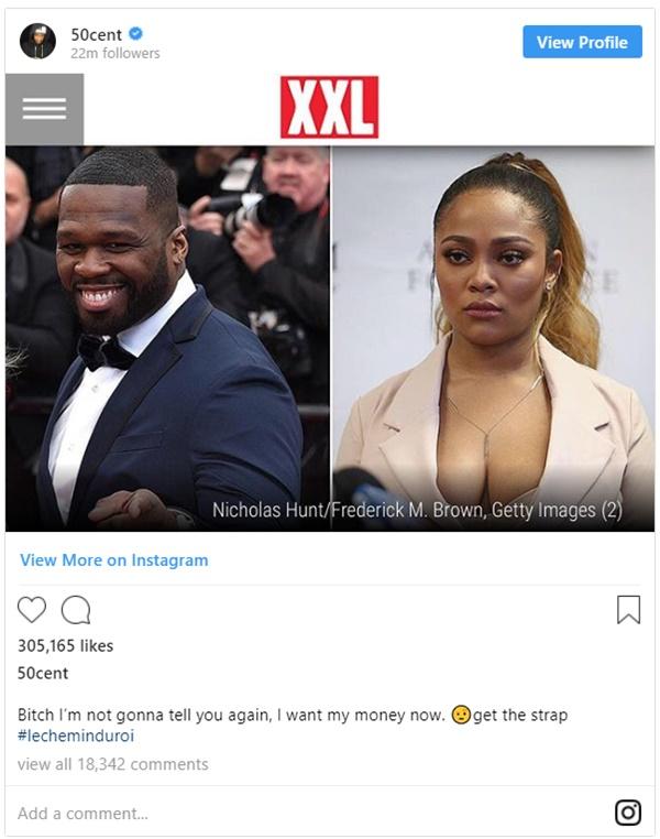 50 Cent SLAMS Teairra Mari After Losing Lawsuit