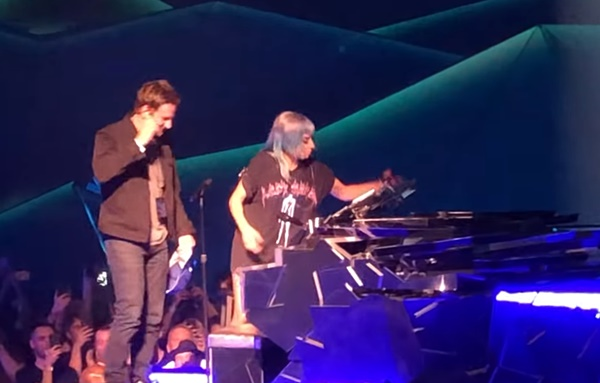 Lady Gaga Surprises Fans with Bradley Cooper