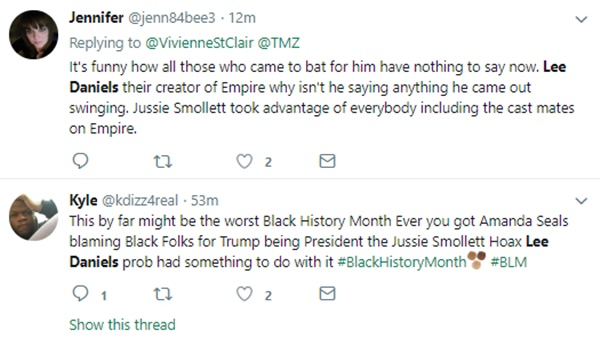 Twitter DRAGS Jussie Smollet and Lee Daniel Connection