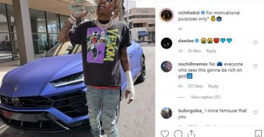 Rich The Kid Attacked + Robbed Following Instagram Post