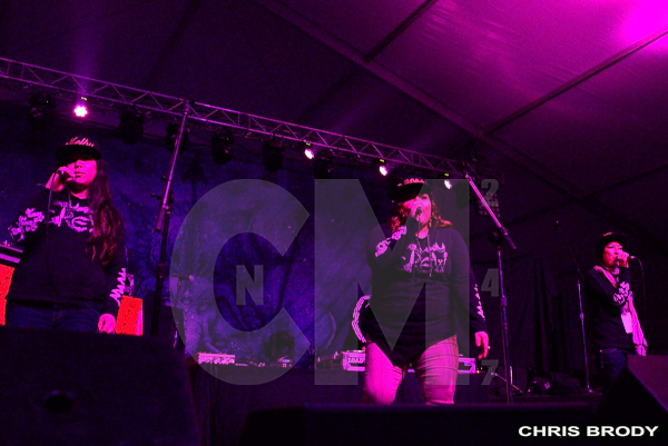 "Inked Hearts Tattoo Expo: Cypress Hill ""Insane In The Membrane"" During Snow Storm"