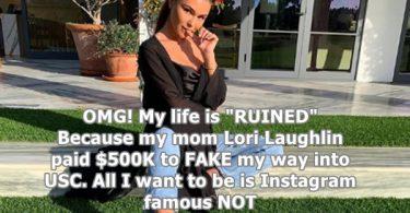 Lori Laughlin's Daughter Olivia Giannulli Blames Her Mom