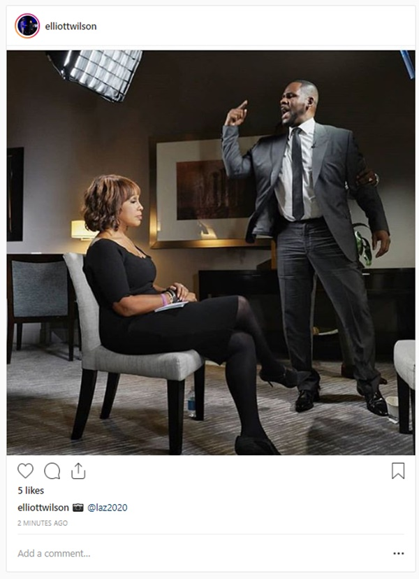 R. Kelly Fighting For His Freedom; Blames Parents