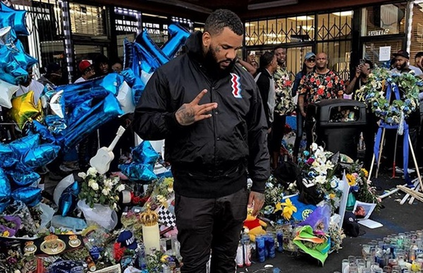 The Game Vows Nipsey Hussle's 'Legacy Will Never Be Forgotten'