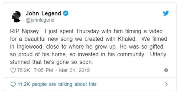 "Hip Hop Mourns Death of Nipsey Hussle ""It Doesn't Make Sense"""