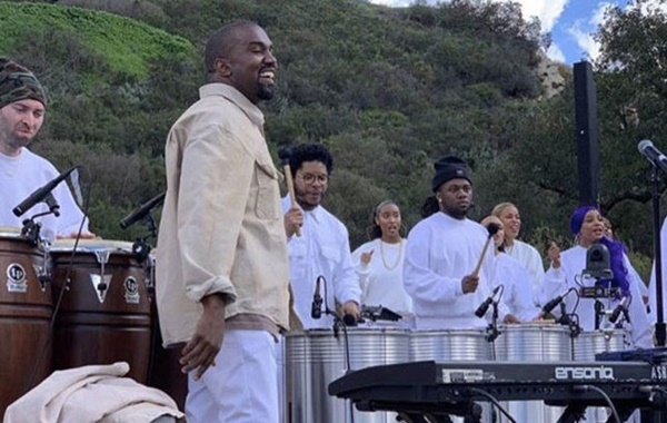 Kanye West Sunday Service Streaming From Coachella on Easter Morning