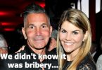 "Lori Loughlin + Mossimo Defense Playing the ""IDK"" Card"