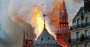Notre Dame Burning To The Ground; Twitter Reacts