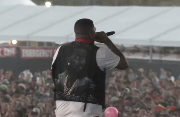 YG Dedicates Coachella Set to Nipsey Hussle