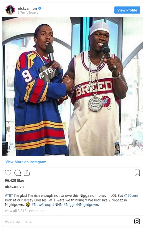 "50 Cent BLASTS Nick Cannon Calling Him a ""B-tch"""