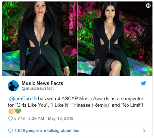 Funkmaster Flex BLASTS Cardi B SCAMMING Awards from REAL Songwriters