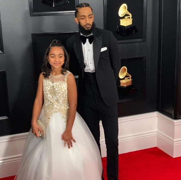 Nipsey Hussle Daughter's Guardianship Hearing Leaves Baby Mama In Tears