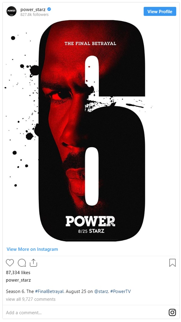 Starz Power Officially Announces Final Season