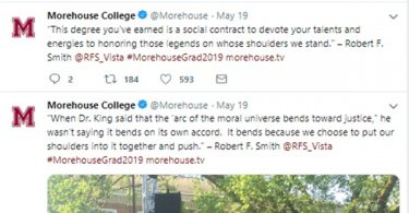 Robert F. Smith Paying Off Morehouse College Graduates Student Loans