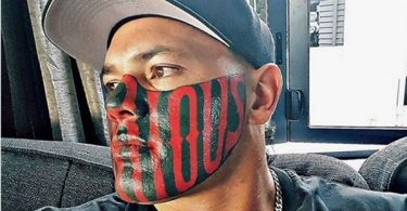 50 Cent MOCKS Mongrel Mob Member Puk Kireka Face Tattoo