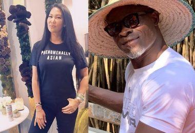 Kimora Lee Simmons: I'm NOT Stopping Djimon Hounsou From Fatherhood