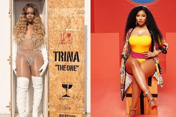 "Trina + Nicki Minaj ""BAPS"" Biggest Selling Female Hip Hop Song on iTunes"