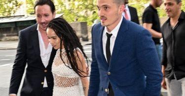 Zoe Kravitz and Karl Glusman Married in Paris