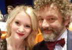 Michael Sheen + Girlfriend Anna Lundberg Expecting Little Angel