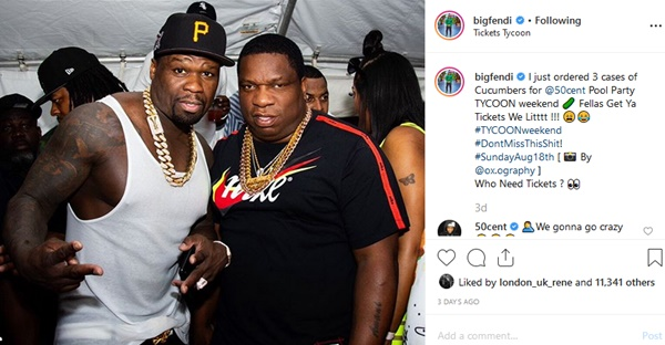 50 Cent To Emily B: Keep Fabolous Home Tycoon Weekend