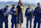 Jason Momoa Defends Hawaiian Volcano in Protest