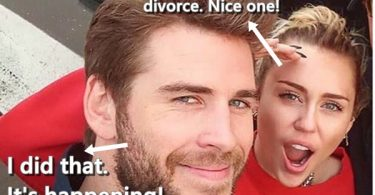 Miley Shocked Liam Hemsworth Filed Divorce