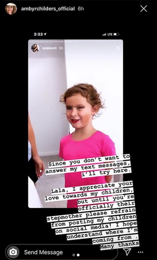 Randall Emmett's Ex Slams Lala Kent for Sharing Her Kids Pics