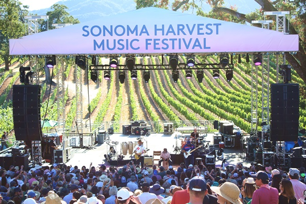 Sonoma Harvest Music Fest Kicks Off With Ben Harper