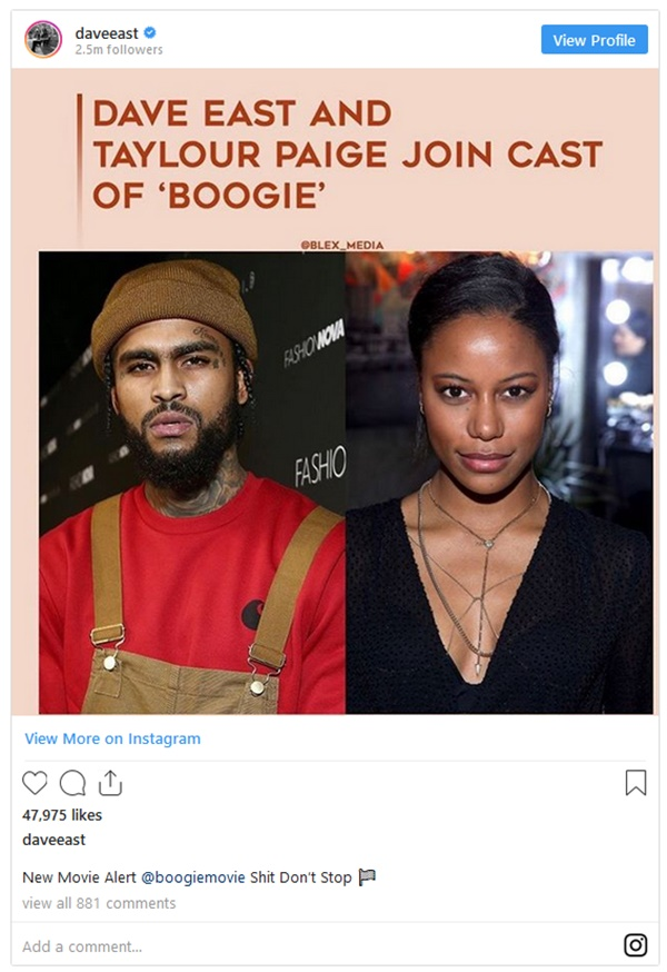 Dave East Accused Of Committing Battery During Threesome