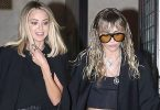 Miley Cyrus + Kaitlynn Carter Still All Over Each Other