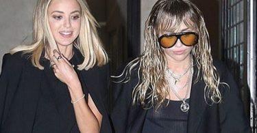 Miley Cyrus + Kaitlynn Carter Still All Over Each Other
