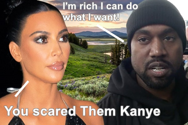 "Kanye West Under Fire For ATV Video ""Scaring"" Antelope"
