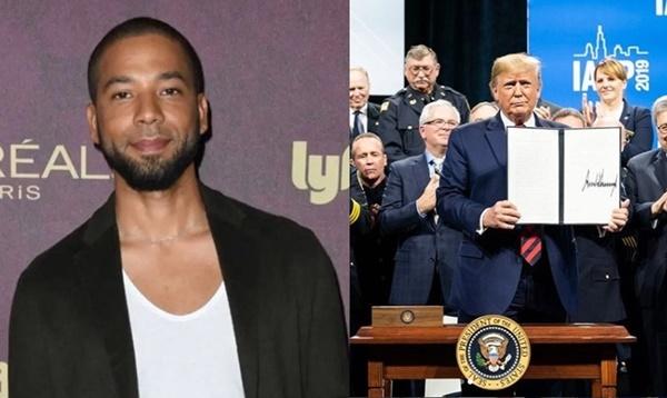 Hypocrite Donald Trump Compares Himself to Jussie Smollett Controversy