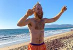 Mike Posner Finishes Walk Across America Jumping In Ocean