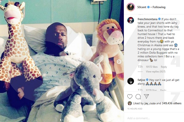 French Montana Calls 50 Cent A 'Donkey'