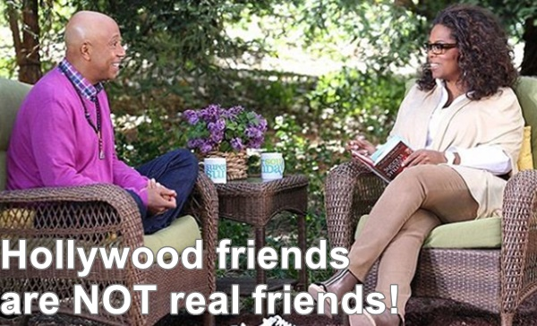 Russell Simmons FURIOUS with Oprah