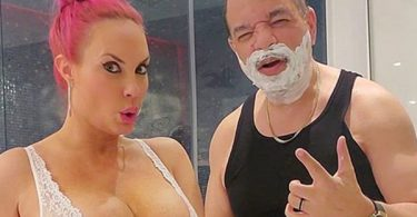 Coco Austin Uses Revealing Photo to Sell Razors