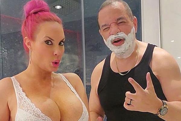 Coco Austin Uses Revealing Photo to Sell Razors