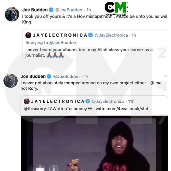 Joe Budden + Jay Electronica Beefing Over Jay's New Album