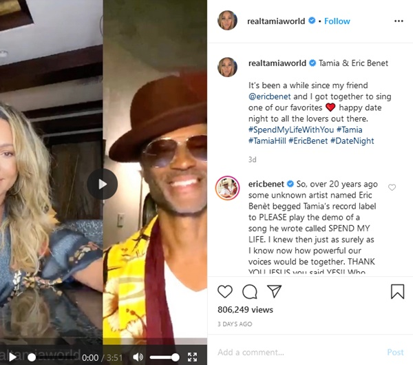 Eric Benet Calls Out Salt And Pepper Haters