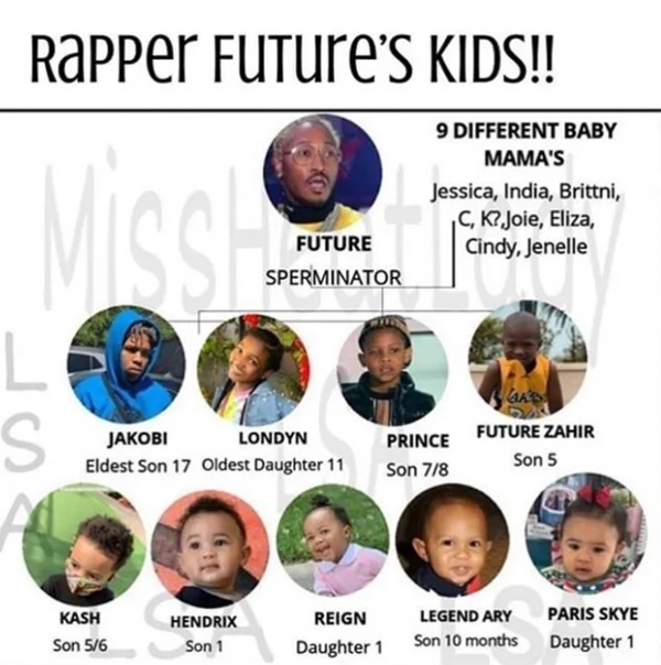 Future's 10th Baby Mama Aborts Baby, Sorry Not Happening