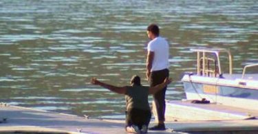 Naya Rivera Presumed Dead: Her Mom Open-Armed Crying At Lake Piru