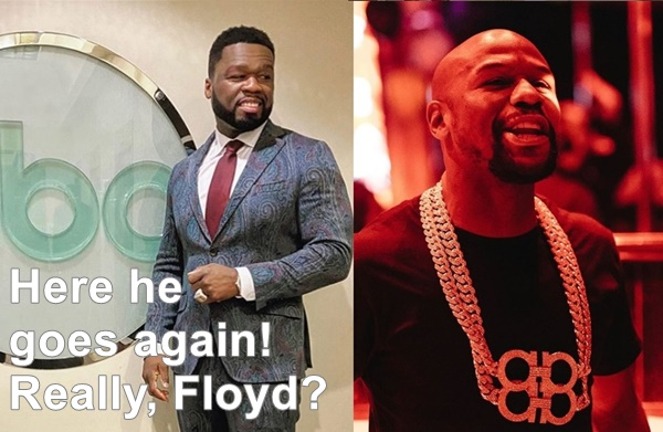 """50 Cent SLAMS Mayweather; """"Someone Read For Champ"""""""