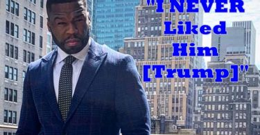 """50 Cent DENOUNCES Trump Support """"I NEVER Liked Him"""""""