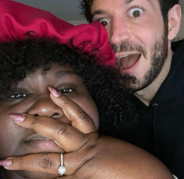 """Gabourey Sidibe Engaged: Her White Chocolate """"Put A Ring On It"""""""