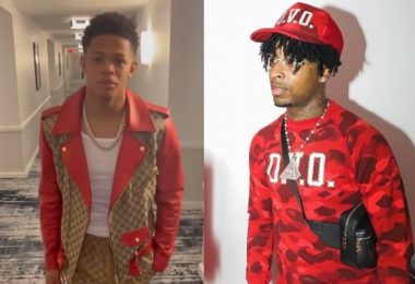 21 Savage TROLLS YK Osiris Live Over Gucci Jacket