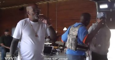 Kanye West Yelling At Chance The Rapper Video LEAKS