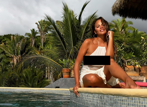 Chrissy Teigen 'Explicate' Thirst Trap Pic DELETED By Instagram
